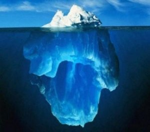 Iceberg-from-top-to-bottom