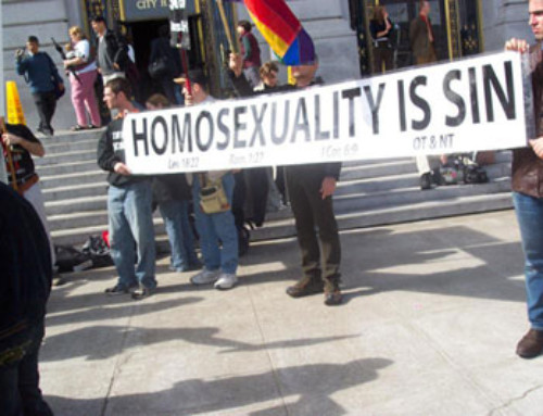HOMOSEXUALITY AND THE CHURCH – WHY WE GOT IT WRONG
