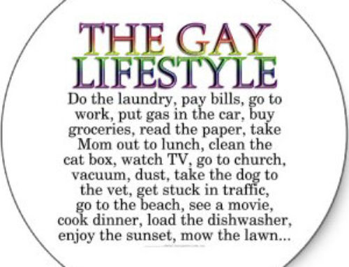 GAY LIFESTYLE – What is the gay lifestyle?