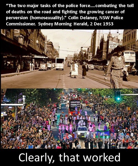 homosexuality must be wiped out of sydney